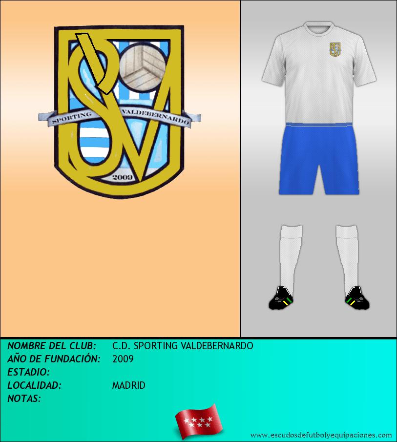 Escudo de C.D. SPORTING VALDEBERNARDO