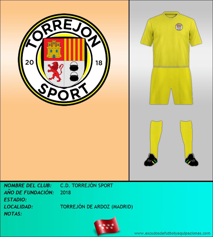 Escudo de C.D. TORREJÓN SPORT