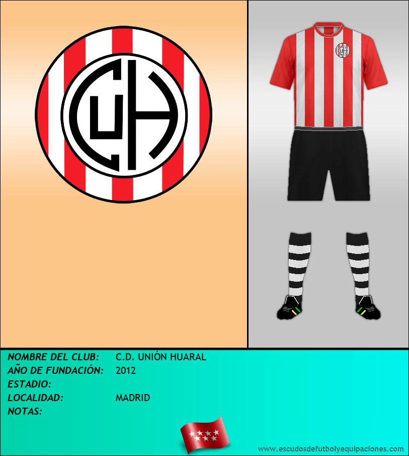 Escudo de C.D. UNIÓN HUARAL