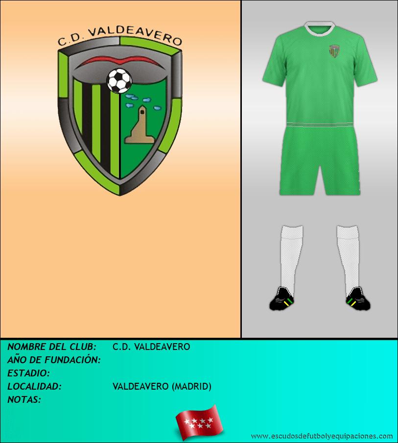 Escudo de C.D. VALDEAVERO