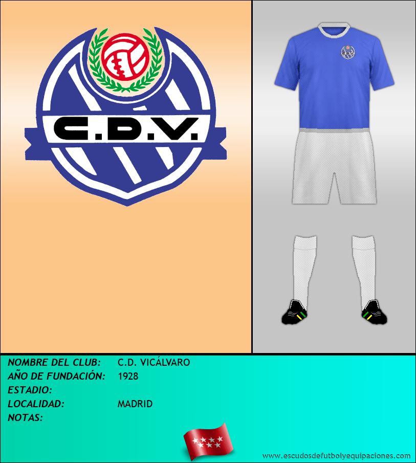 Escudo de C.D. VICÁLVARO