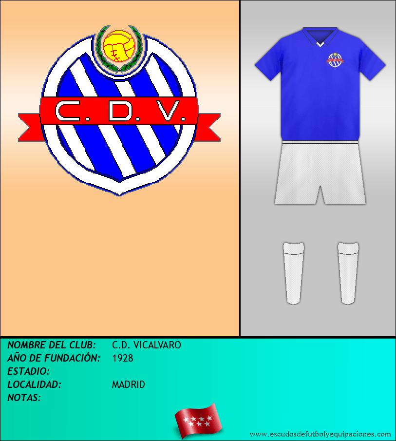 Escudo de C.D. VICALVARO