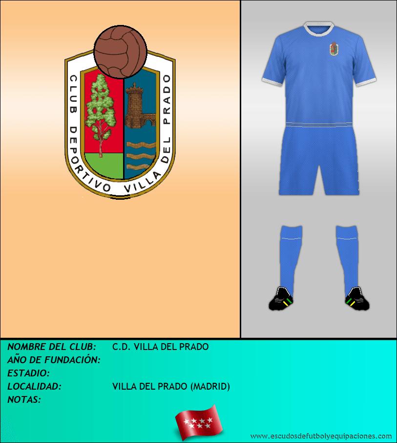 Escudo de C.D. VILLA DEL PRADO