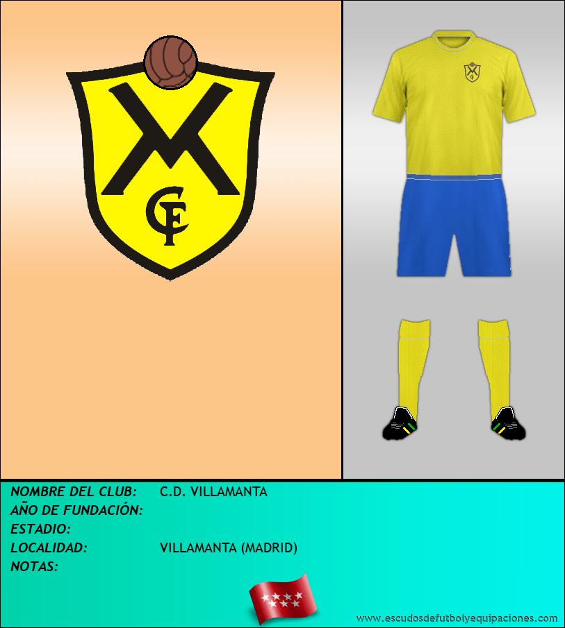 Escudo de C.D. VILLAMANTA