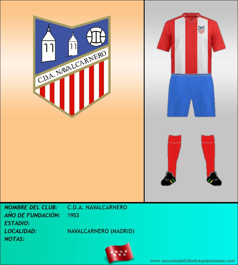 Escudo de C.D.A. NAVALCARNERO