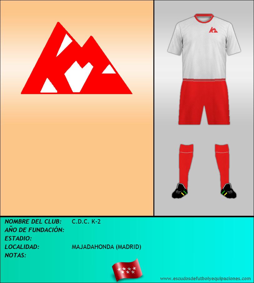Escudo de C.D.C. K-2
