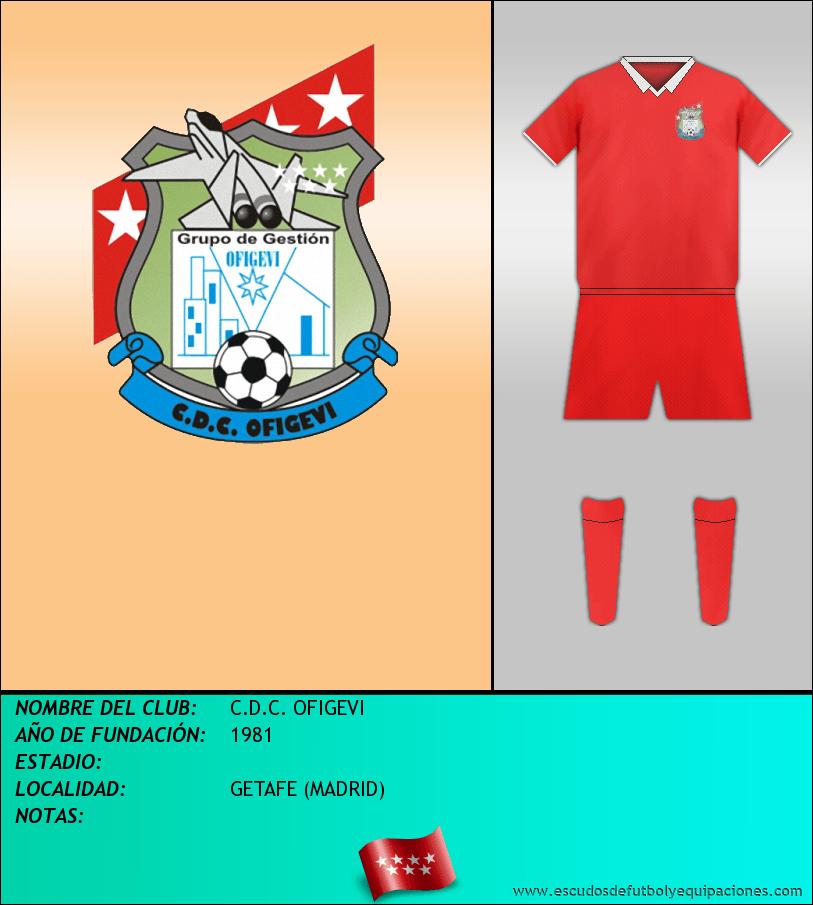 Escudo de C.D.C. OFIGEVI