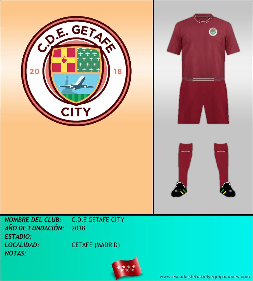 Escudo de C.D.E GETAFE CITY