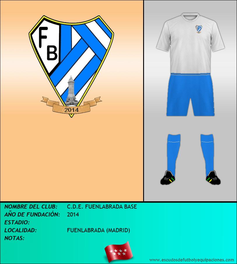 Escudo de C.D.E. FUENLABRADA BASE