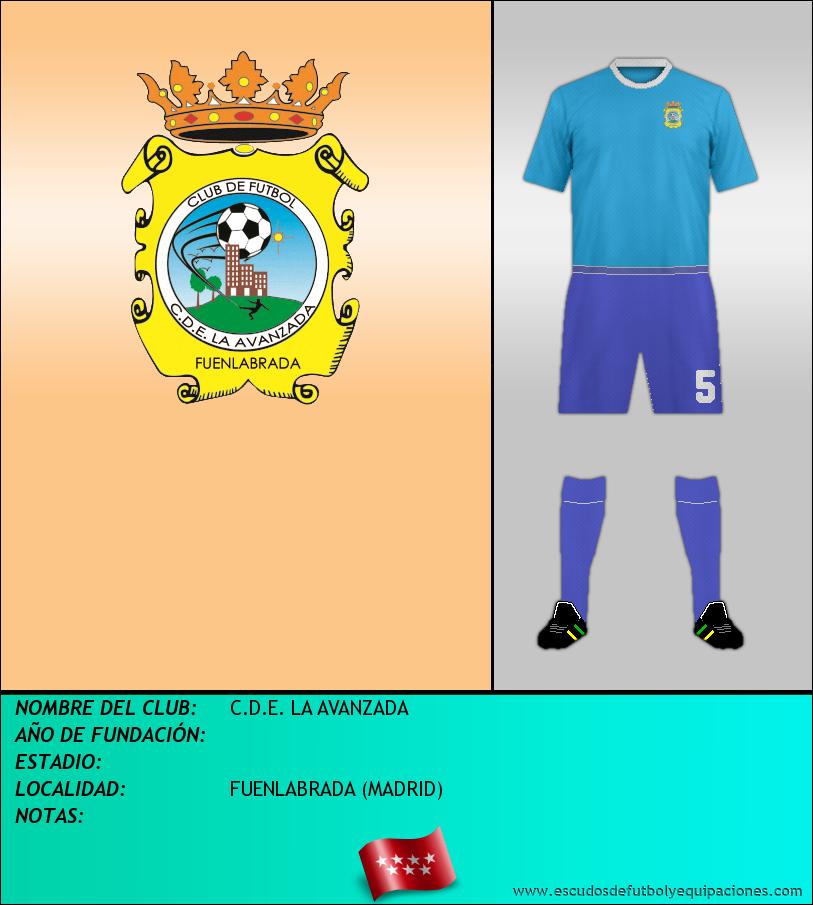 Escudo de C.D.E. LA AVANZADA