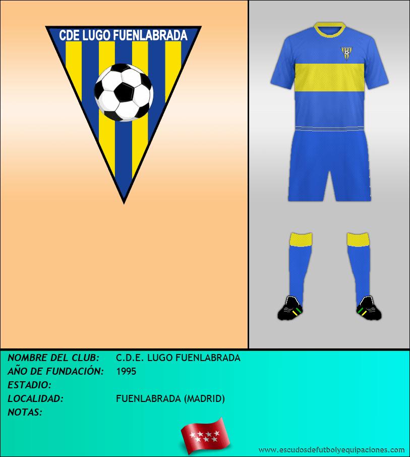 Escudo de C.D.E. LUGO FUENLABRADA