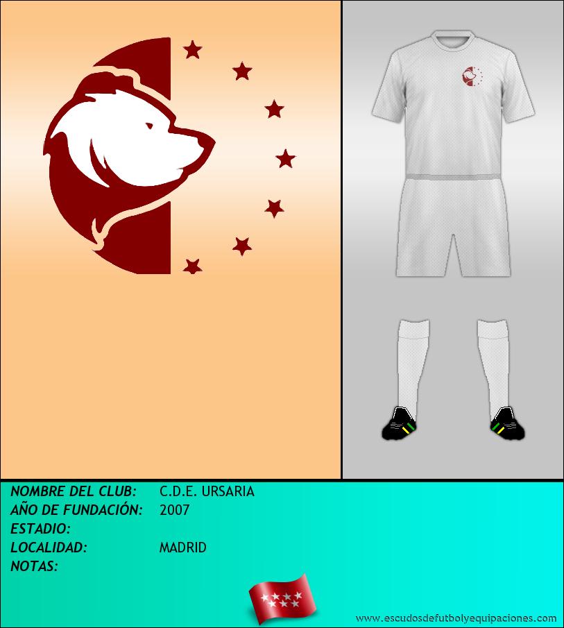 Escudo de C.D.E. URSARIA