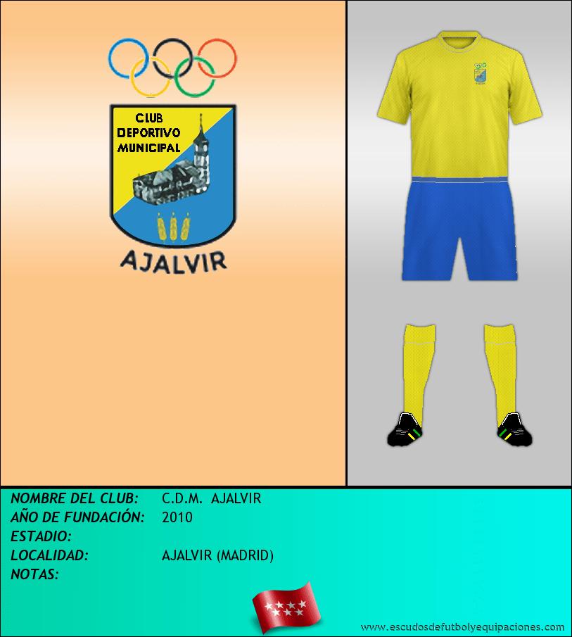 Escudo de C.D.M.  AJALVIR