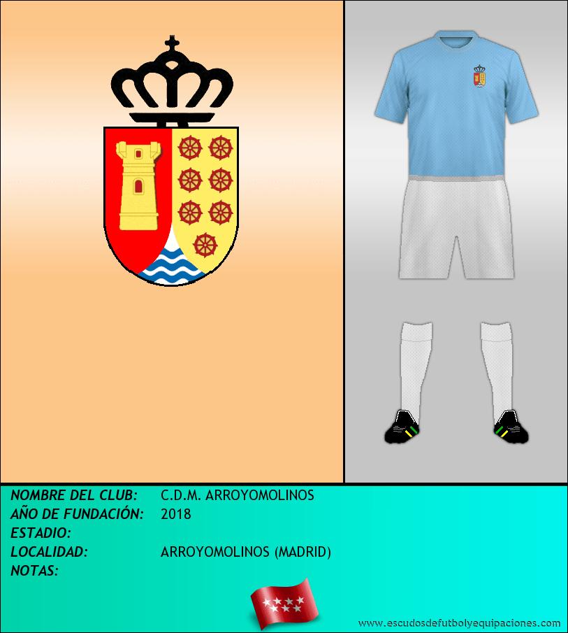 Escudo de C.D.M. ARROYOMOLINOS