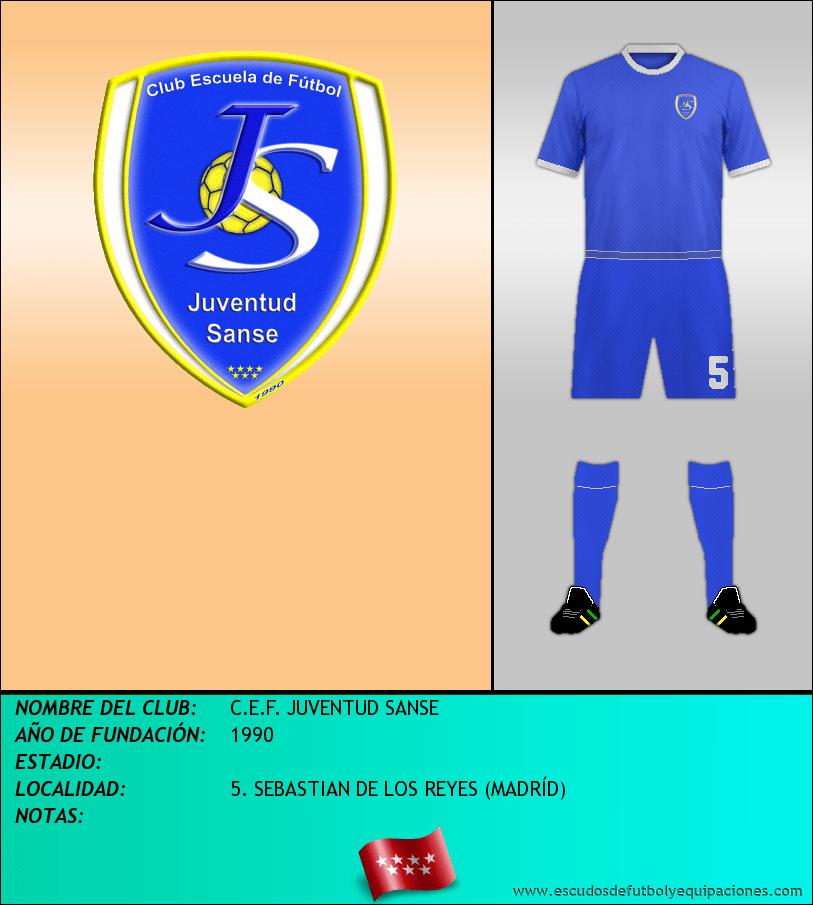 Escudo de C.E.F. JUVENTUD SANSE