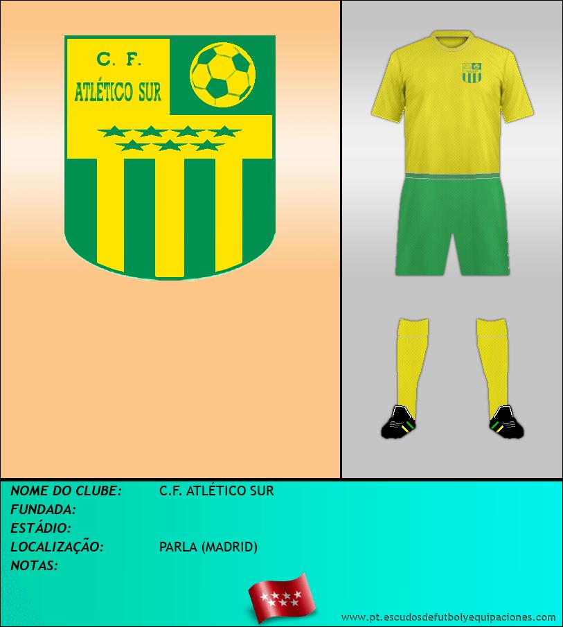 Escudo de C.F. ATLÉTICO SUR