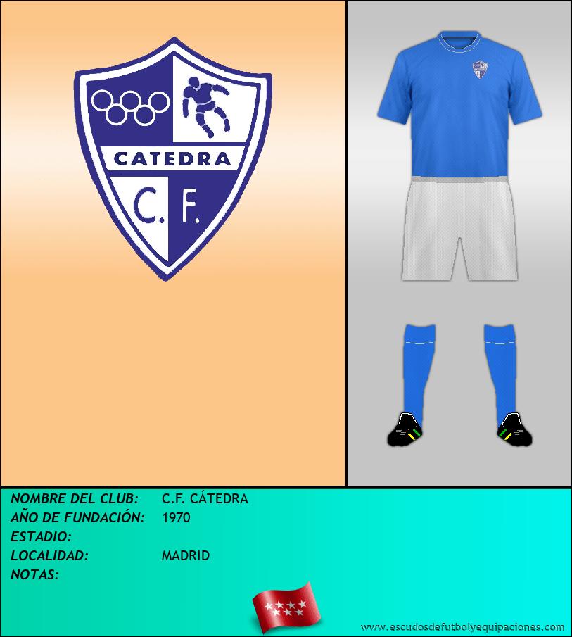 Escudo de C.F. CÁTEDRA