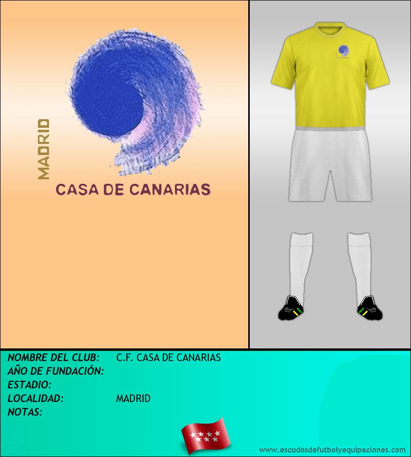 Escudo de C.F. CASA DE CANARIAS