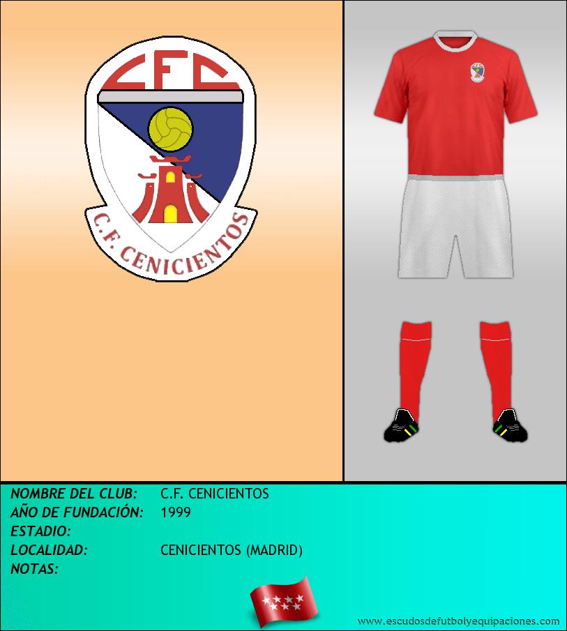 Escudo de C.F. CENICIENTOS