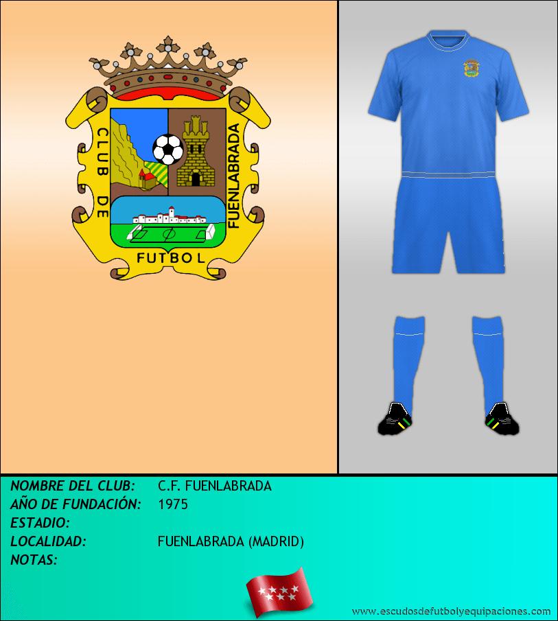 Escudo de C.F. FUENLABRADA