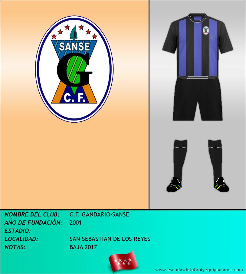Escudo de C.F. GANDARIO-SANSE