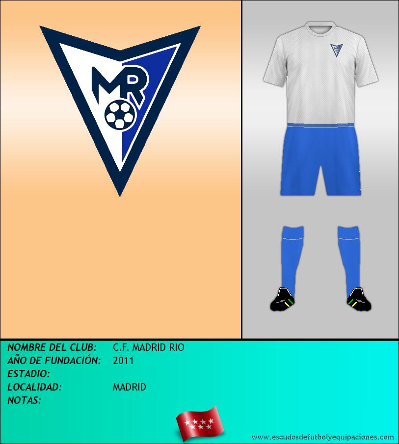 Escudo de C.F. MADRID RIO