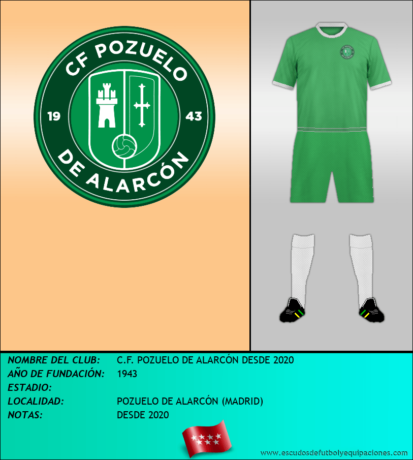 Escudo de C.F. POZUELO DE ALARCÓN DESDE 2020