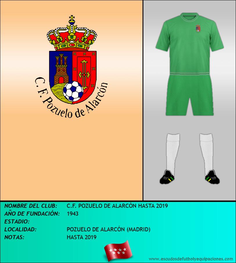 Escudo de C.F. POZUELO DE ALARCÓN HASTA 2019