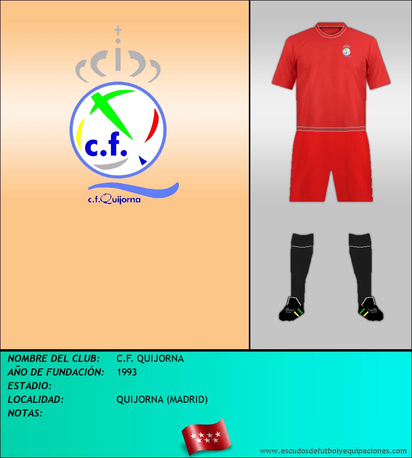 Escudo de C.F. QUIJORNA