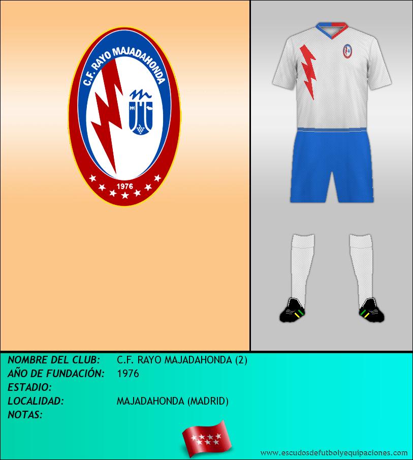 Escudo de C.F. RAYO MAJADAHONDA (2)
