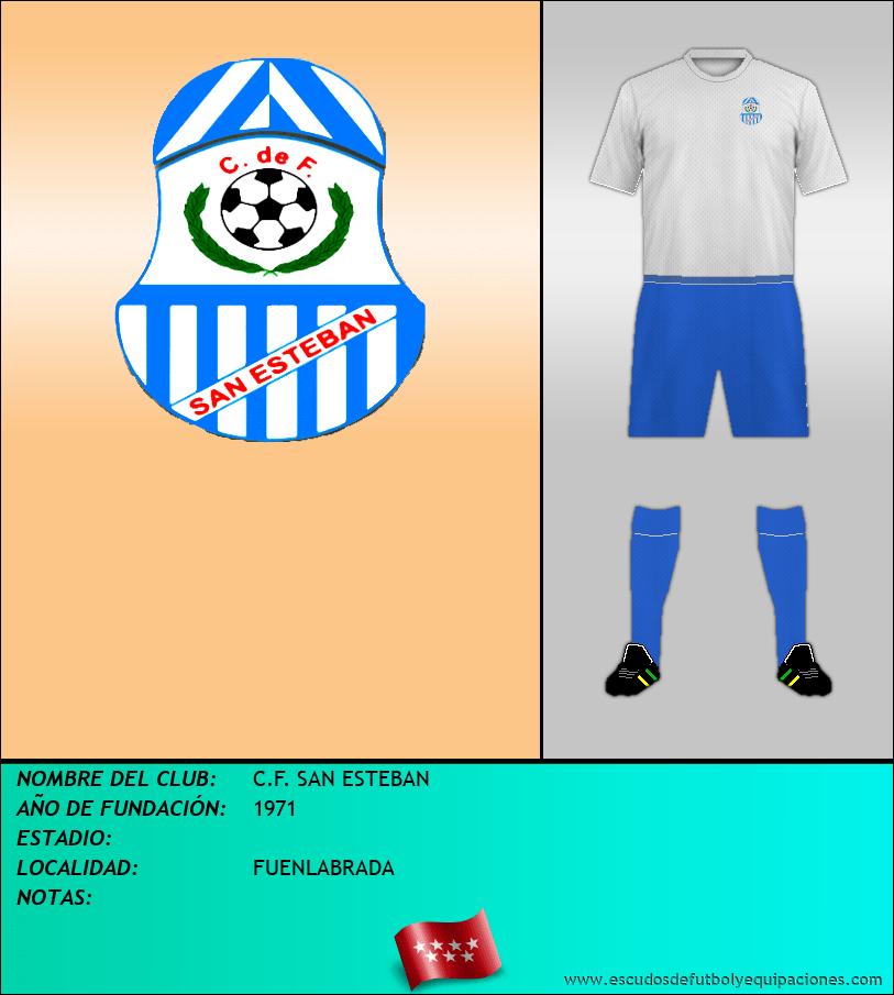 Escudo de C.F. SAN ESTEBAN