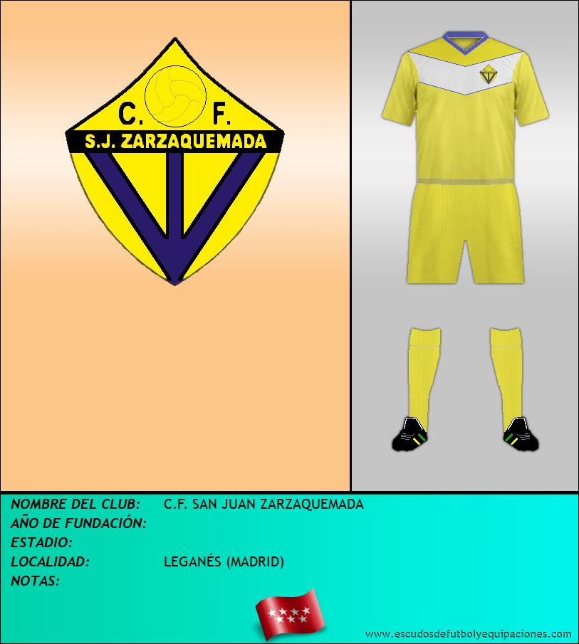 Escudo de C.F. SAN JUAN ZARZAQUEMADA