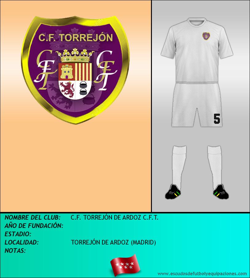 Escudo de C.F. TORREJÓN DE ARDOZ C.F.T.