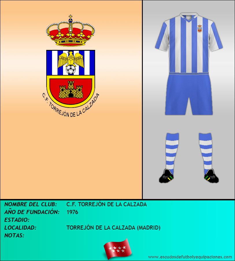 Escudo de C.F. TORREJÓN DE LA CALZADA