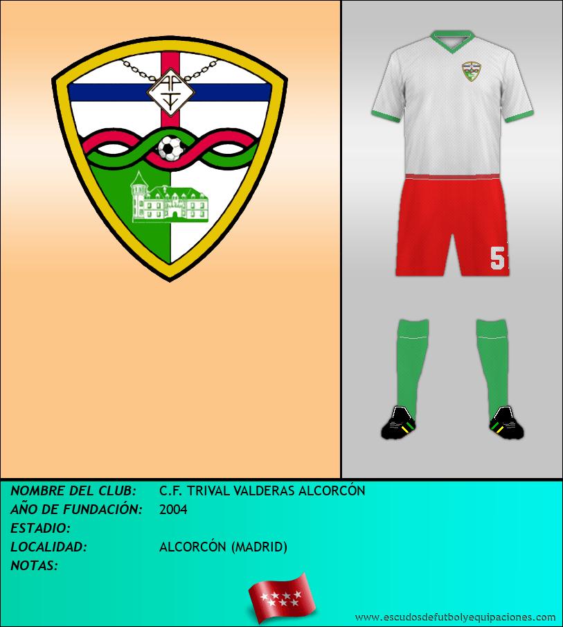 Escudo de C.F. TRIVAL VALDERAS ALCORCÓN