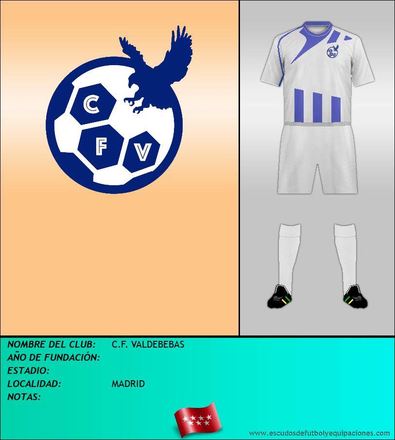Escudo de C.F. VALDEBEBAS