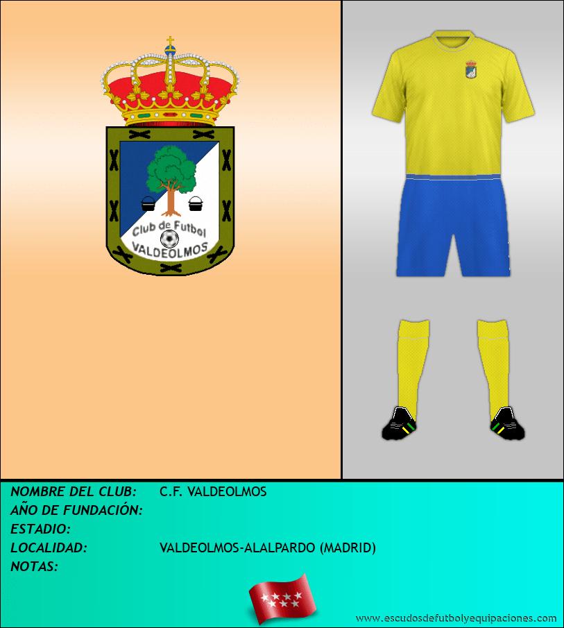 Escudo de C.F. VALDEOLMOS
