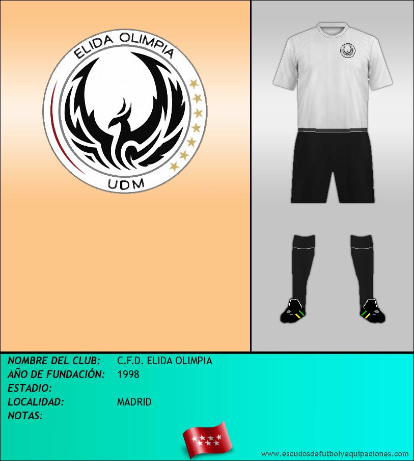 Escudo de C.F.D. ELIDA OLIMPIA
