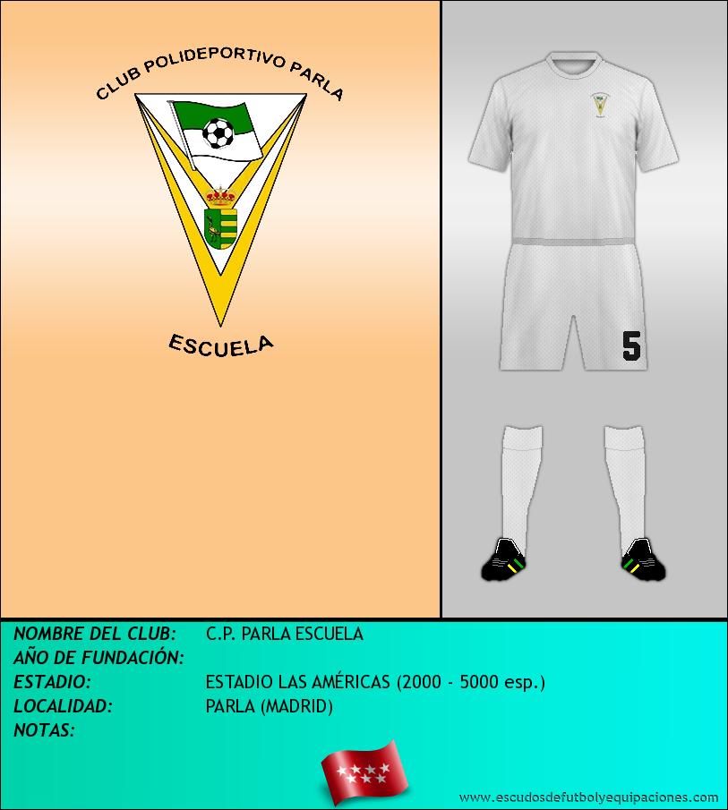 Escudo de C.P. PARLA ESCUELA