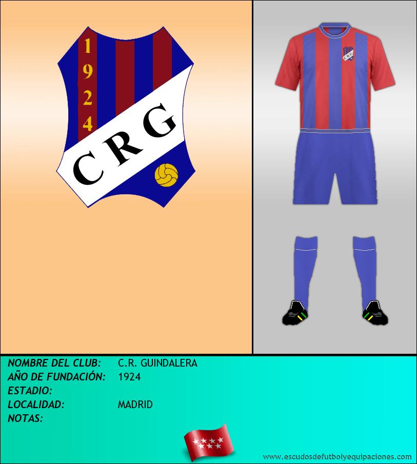 Escudo de C.R. GUINDALERA