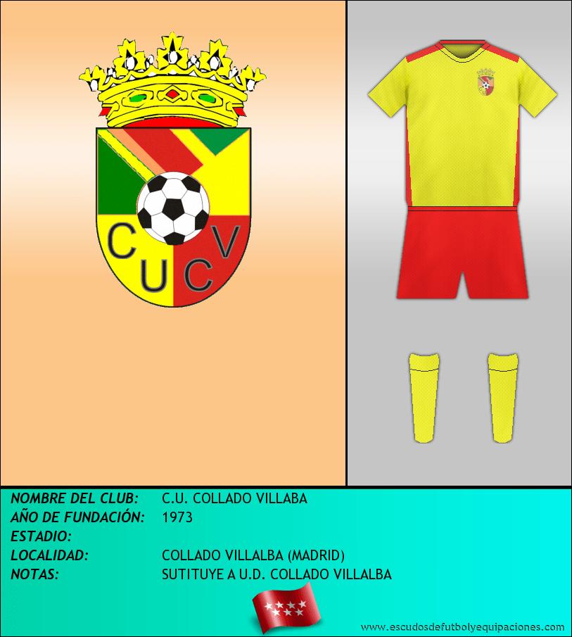 Escudo de C.U. COLLADO VILLABA