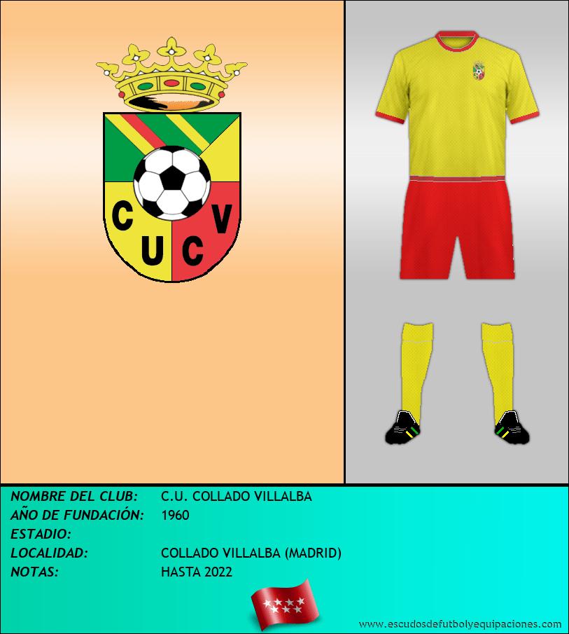 Escudo de C.U. COLLADO VILLALBA