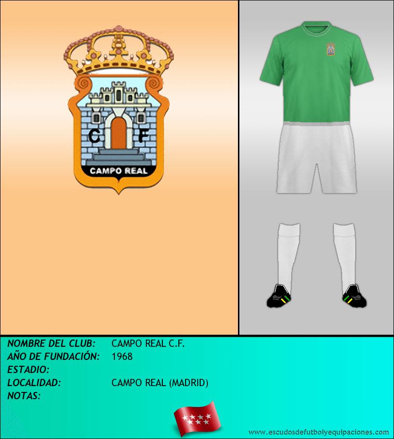 Escudo de CAMPO REAL C.F.