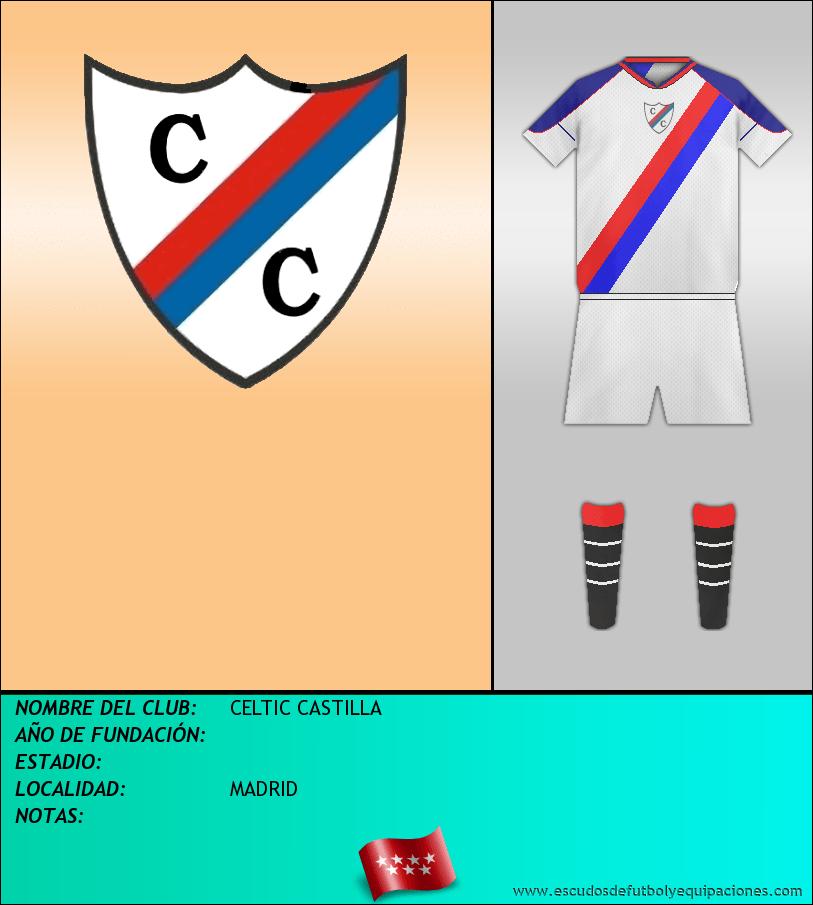 Escudo de CELTIC CASTILLA