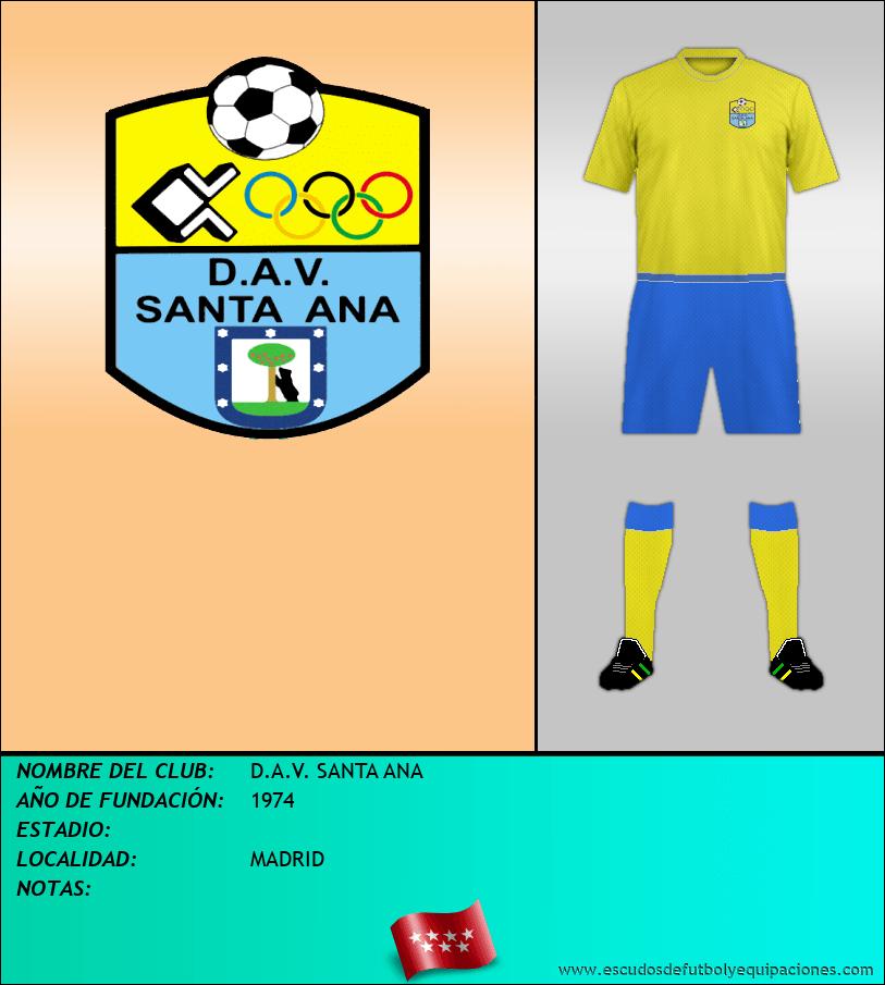 Escudo de D.A.V. SANTA ANA