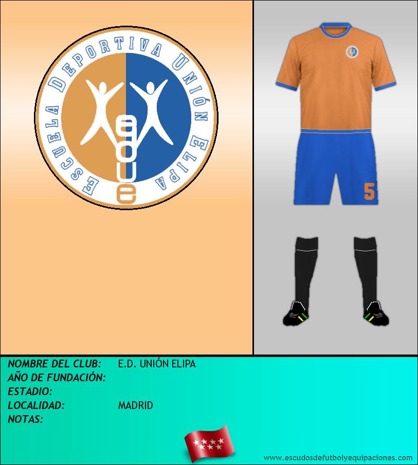 Escudo de E.D. UNIÓN ELIPA