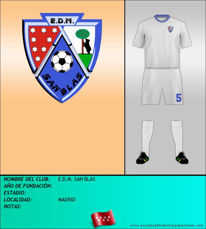 Escudo de E.D.M. SAN BLAS