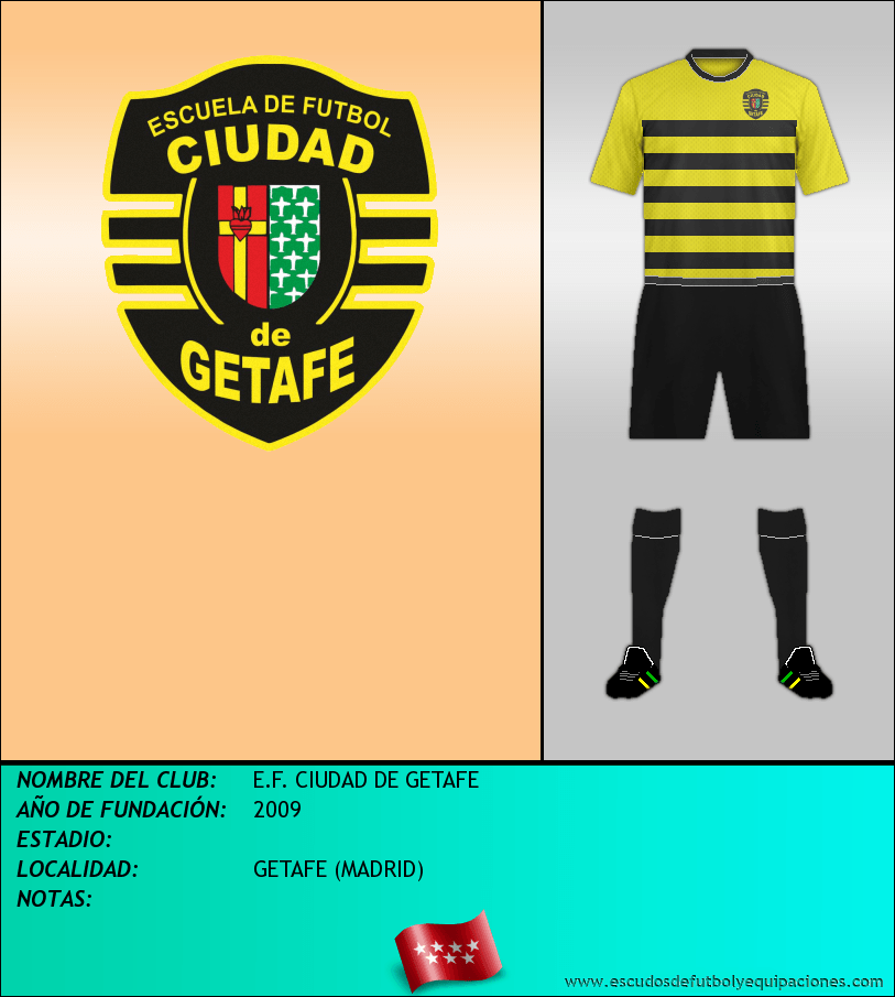 Escudo de E.F. CIUDAD DE GETAFE
