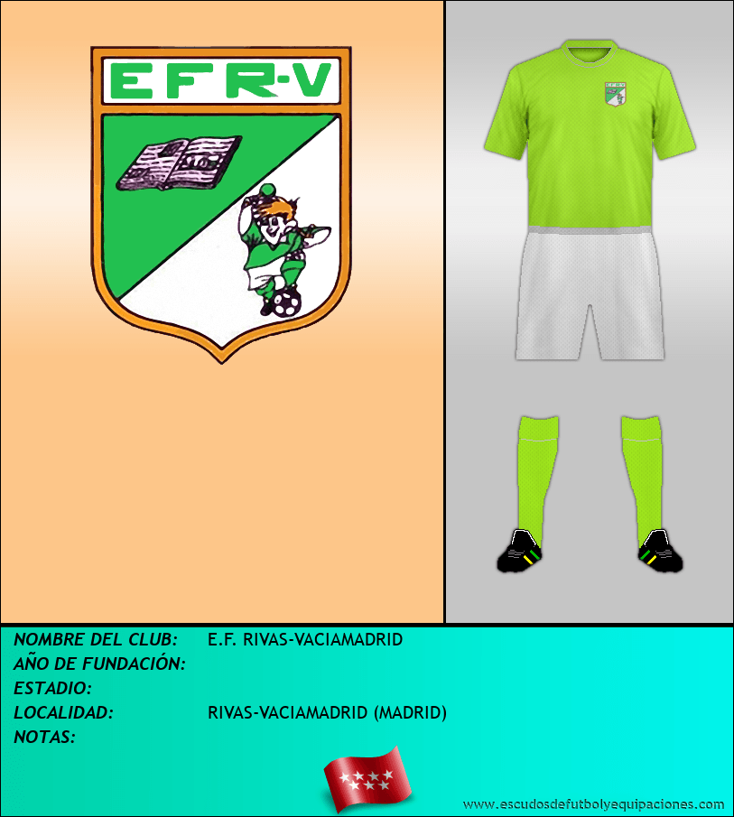 Escudo de E.F. RIVAS-VACIAMADRID