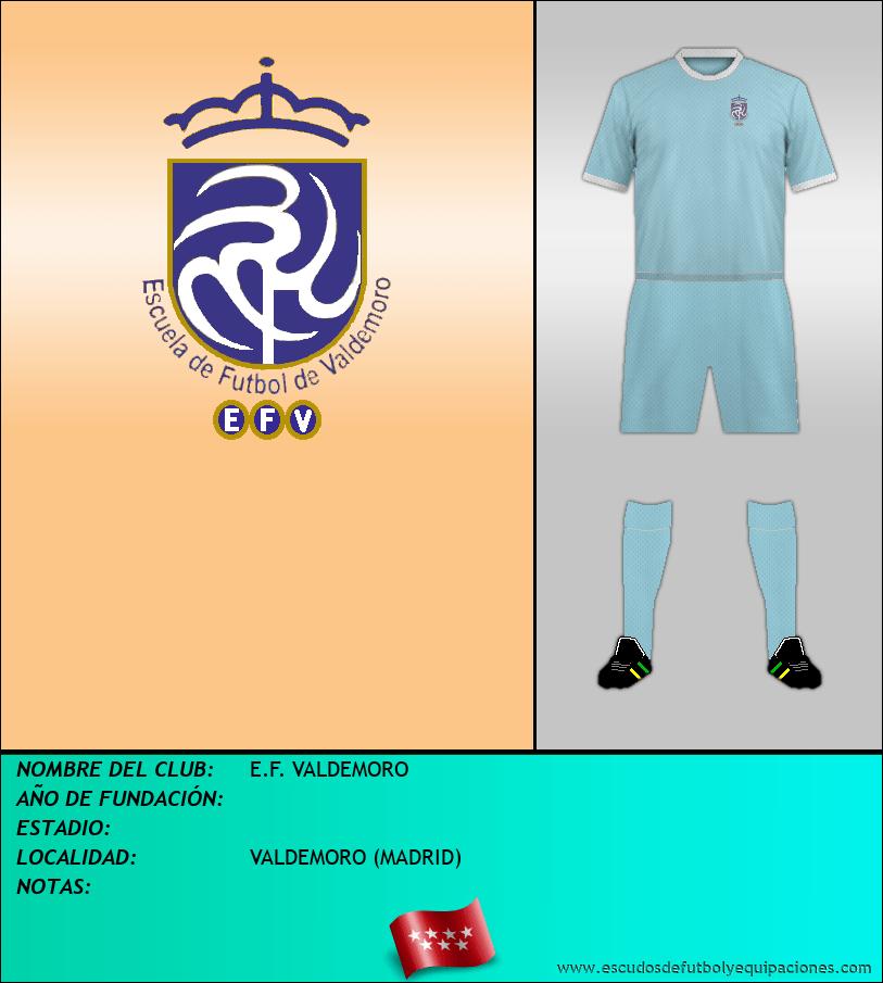 Escudo de E.F. VALDEMORO